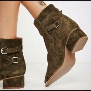 Jeffrey Campbell x free people bootie